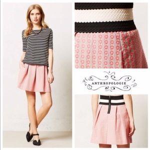 Maeve BALLAD SWING Pink Circle Skirt XS